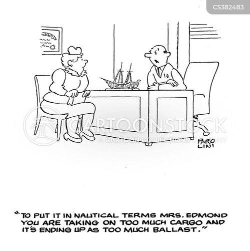 ballast cartoon