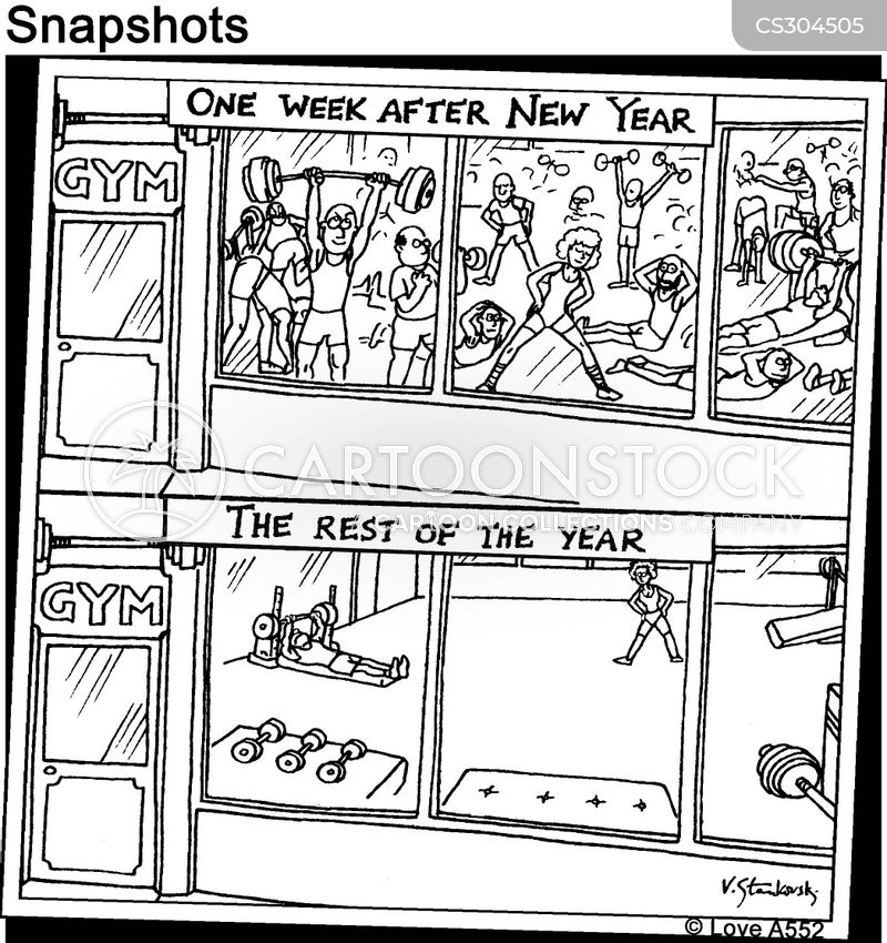 New Year Resolutions Cartoons and Comics - funny pictures from ...