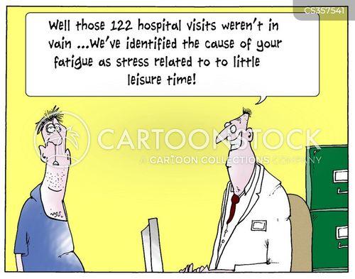 fatigued cartoon