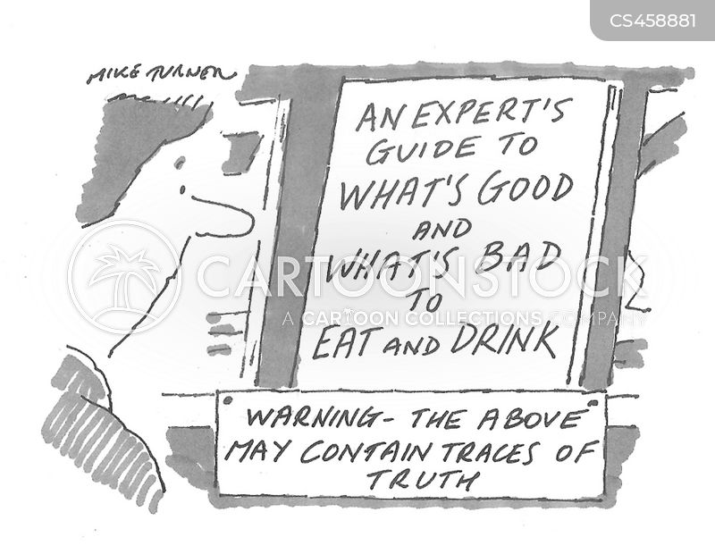 dietary need cartoon