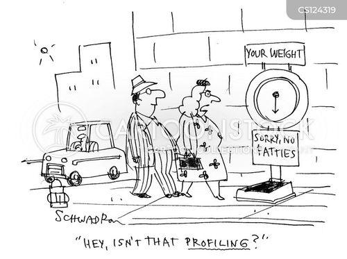weighing scale cartoon