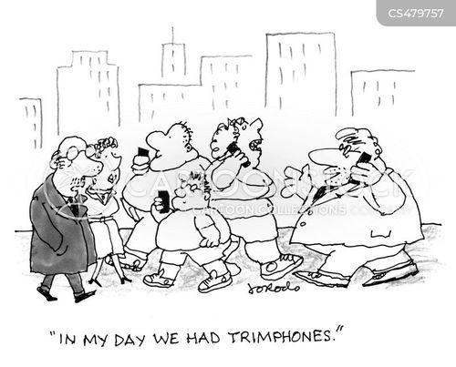 bygone cartoon