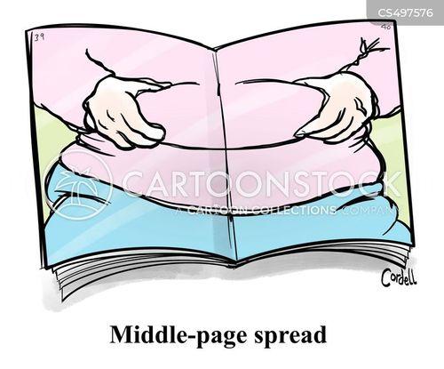 layout cartoon