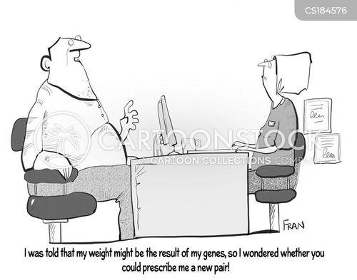 heavyset cartoon