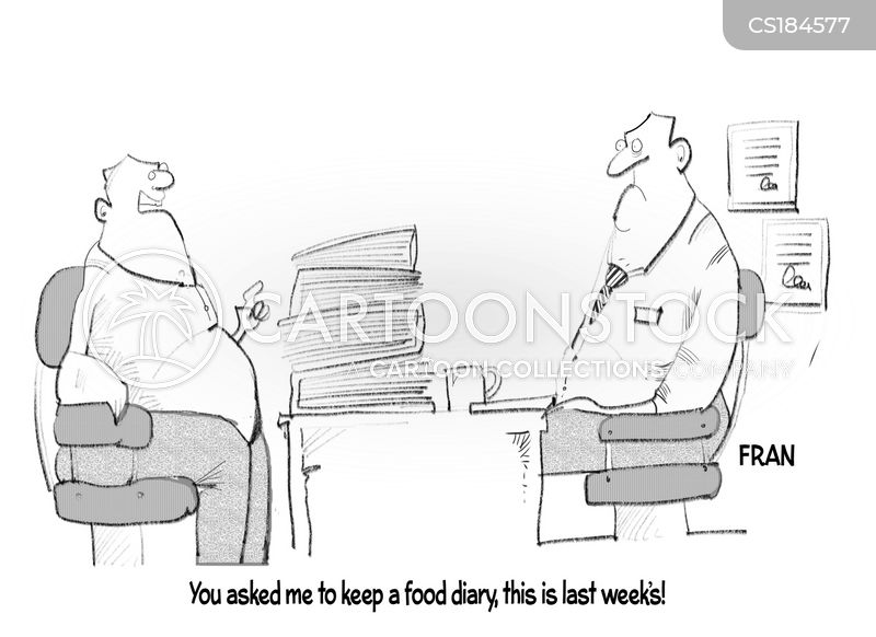 watching what you eat cartoon
