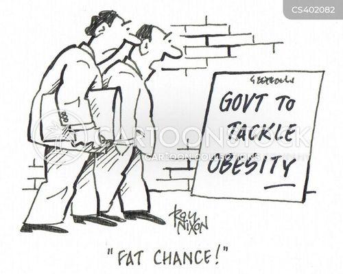 obese britain cartoon