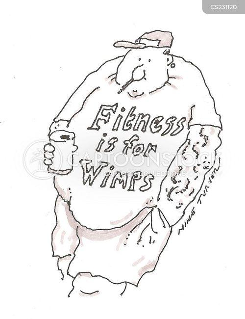 wimpiness cartoon