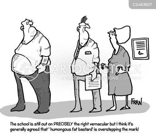 fat problems cartoon