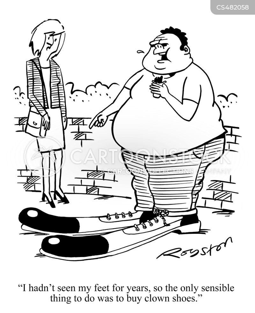obesity problem cartoon