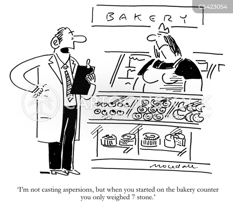 baked goods cartoon