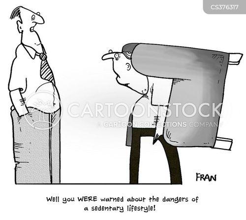 viewing cartoon
