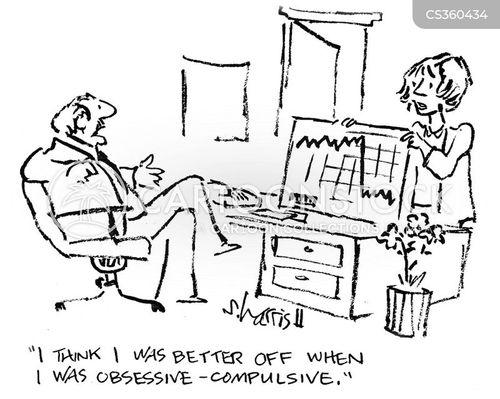 obsessive-compulsive cartoon