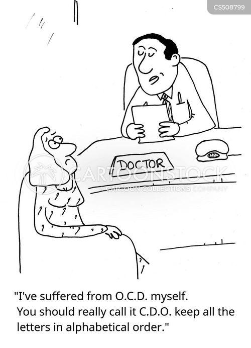 o.c.d. cartoon