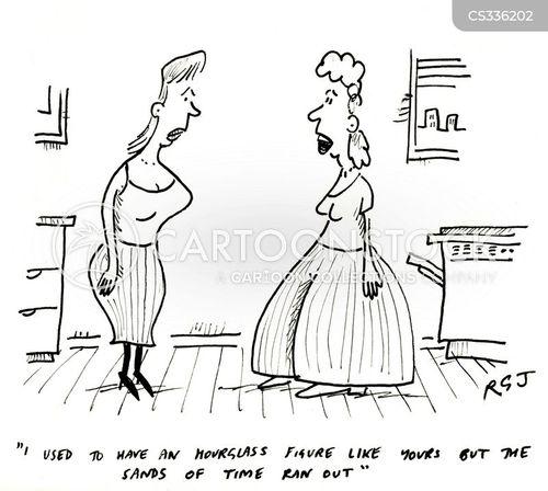 elderly persons cartoon
