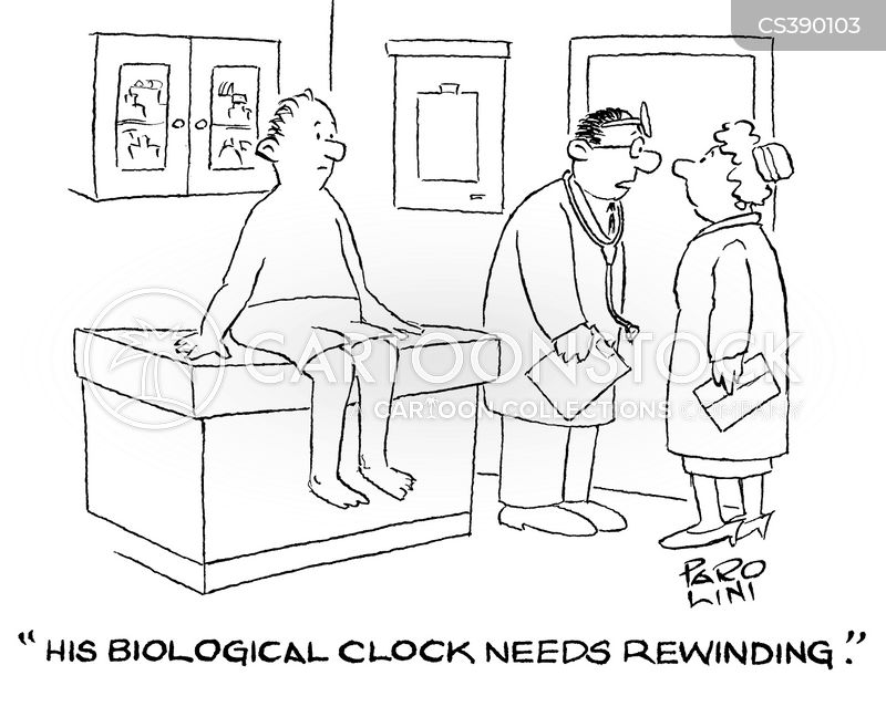 Biological Clock For Men Biological Clocks Cartoon 3 of