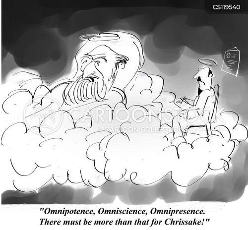 God Is Omnipotent Omniscient And Omnipresent