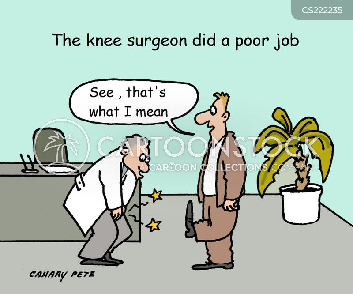 Knee Surgeon Cartoons Knee Surgeon Cartoon Funny Knee Surgeon Picture Knee Surgeon