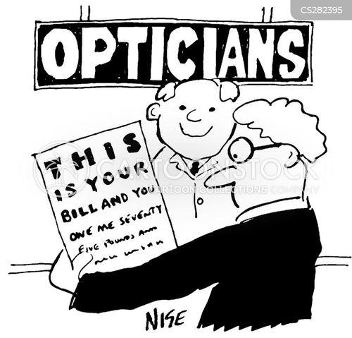 opthalmologist cartoon