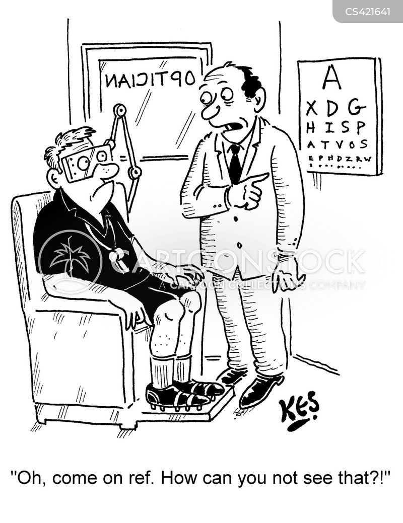 Snellen Chart Cartoons And Comics Funny Pictures From Cartoonstock
