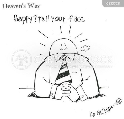 smiled cartoon