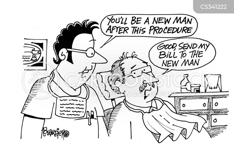 new man cartoon