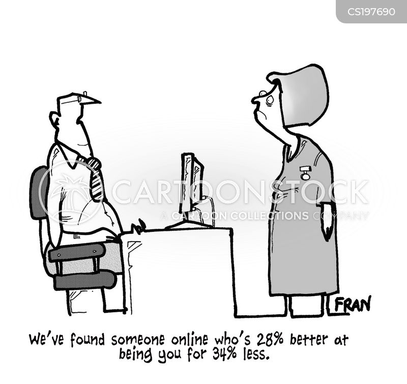staffing cuts cartoon