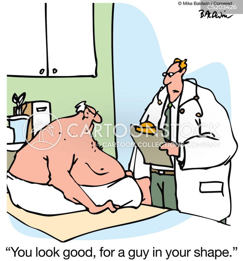 Out Of Shape Cartoons and Comics - funny pictures from CartoonStock
