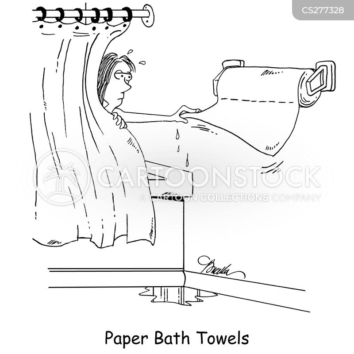 drying cartoon