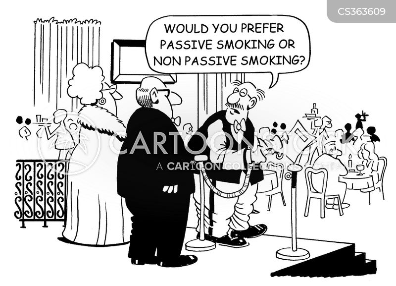 no smoking areas cartoon