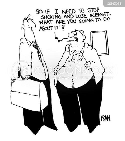 bad health cartoon