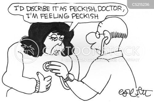 peckish cartoon