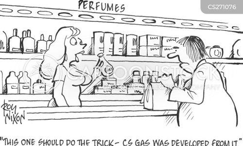 cs gas cartoon