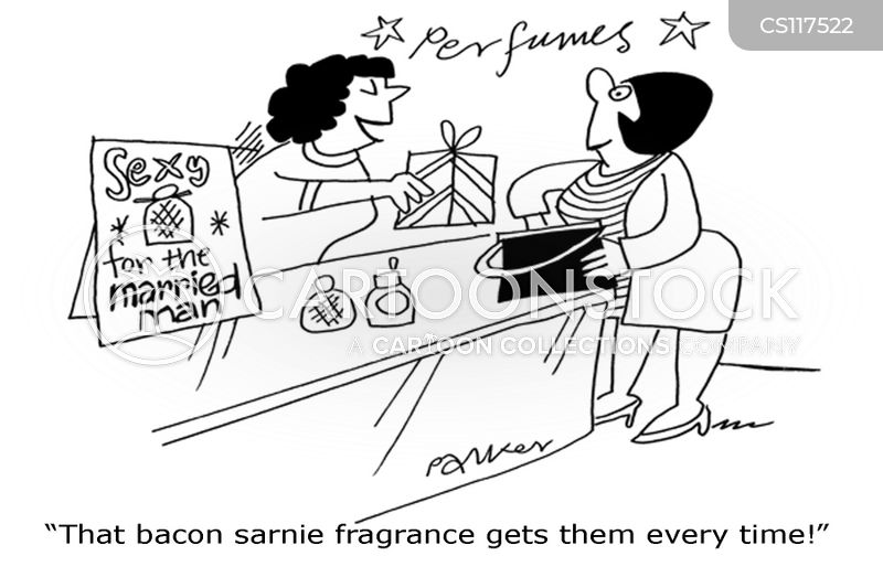 nice smells cartoon