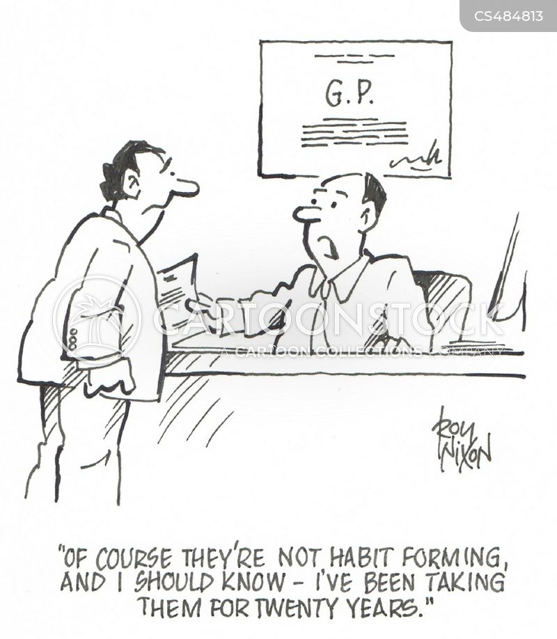 opiates cartoon