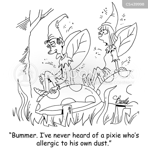 pixie cartoon