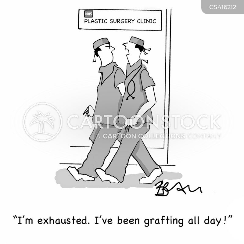 skin grafts cartoon