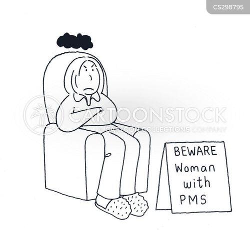 premenstrual cartoon