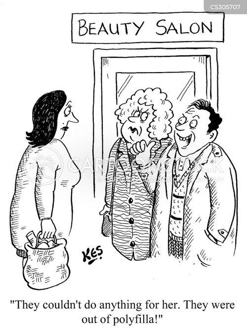 anti-wrinkle cream cartoon