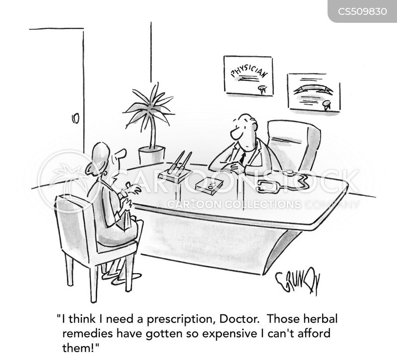 natural medicine cartoon