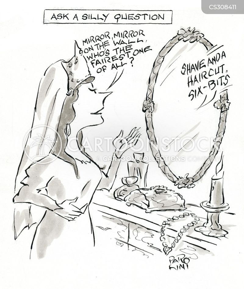 magical mirror cartoon