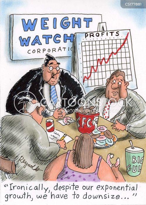 watching weight cartoon