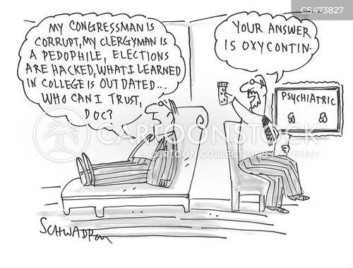 opioid cartoon