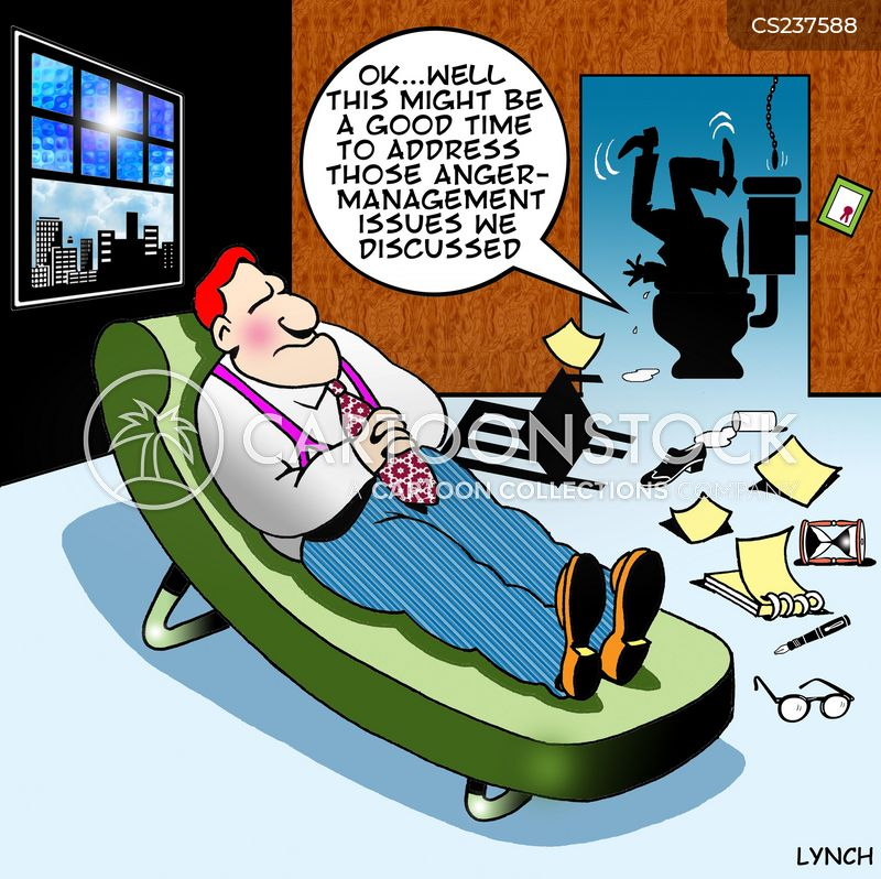 anger management issues cartoon