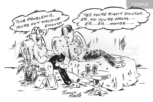 decisiveness cartoon