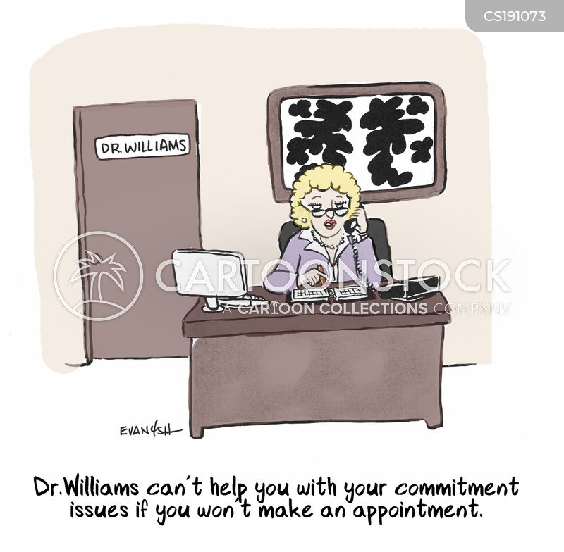 commitment issue cartoon
