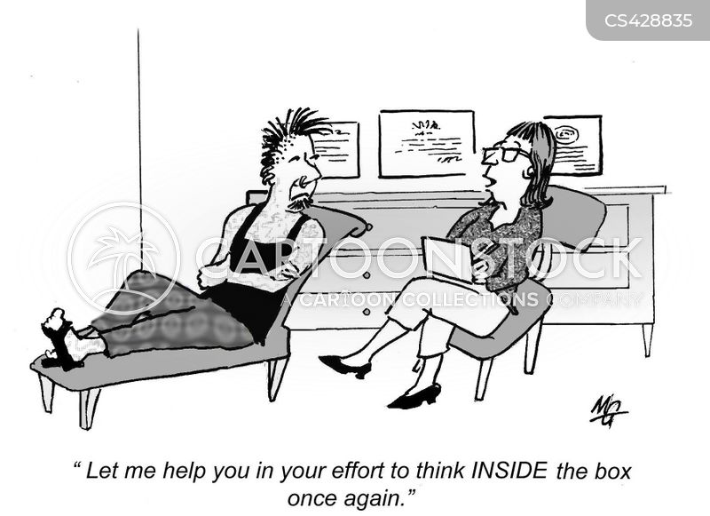thought patterns cartoon