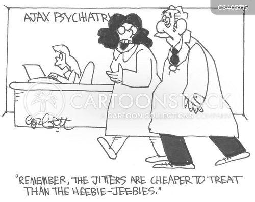 jittery cartoon