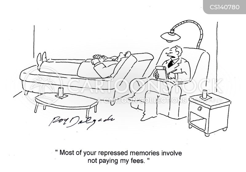repressed memories cartoon