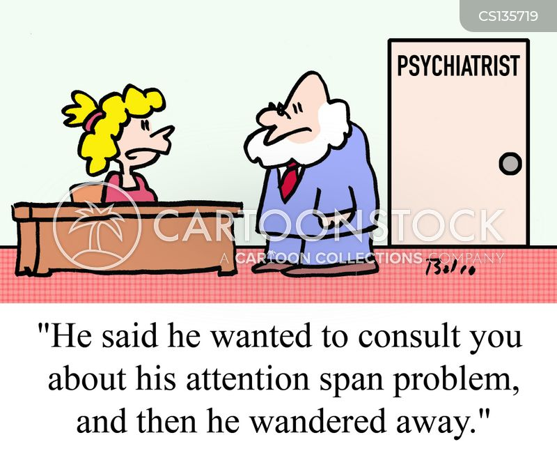attention deficit cartoon