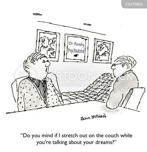 dreams analysis cartoon